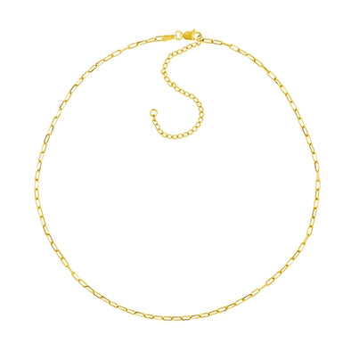 14K Yellow Gold Forzantina Adjustable Choker