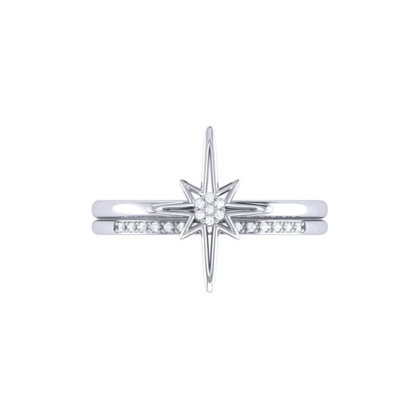 North Star Detachable Ring in Sterling Silver