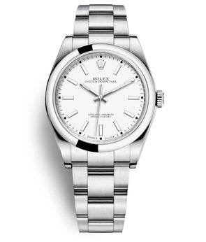 Rolex 39Mm Oystersteel Oyster Perpetual Watch