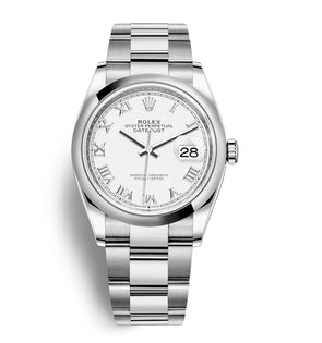Rolex 36Mm Oystersteel Datejust Watch