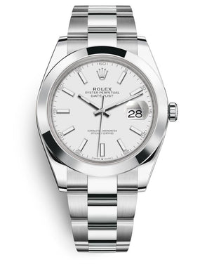Rolex 41Mm Oystersteel Datejust Watch