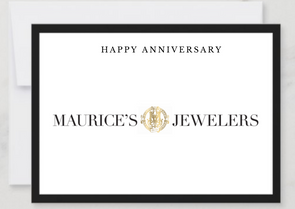 Happy Anniversary Gift Card