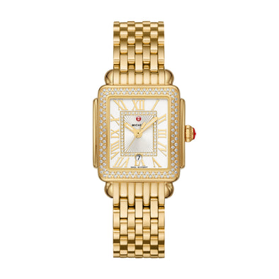 Deco Madison Mid Gold Diamond Watch