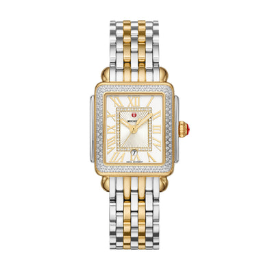 Deco Madison Mid Two-Tone Diamond Watch