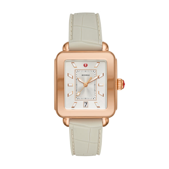 Deco Sport Rose Gold And Cashmere Watch