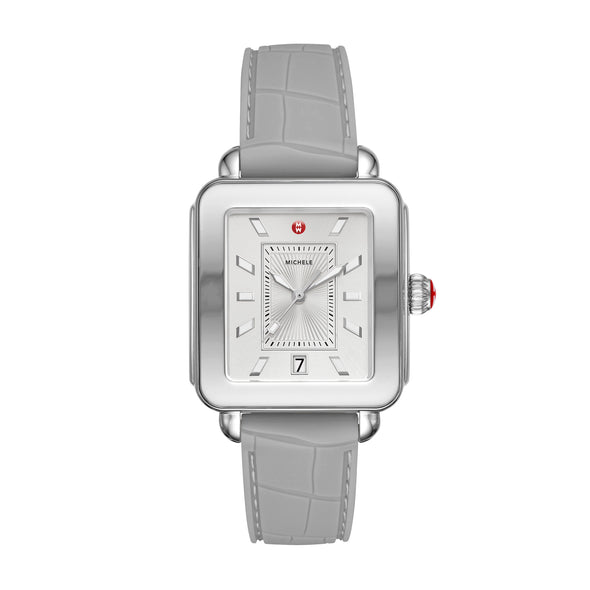 Deco Sport Stainless-Steel And Light Grey Watch