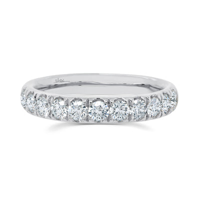 14K White Gold 1.92Ct Diamond 3.5MM Eternity Band
