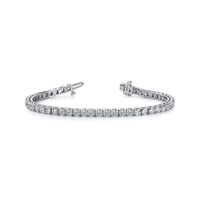 14k White Gold Diamond Tennis Bracelet (1.00ct-5.00ct)