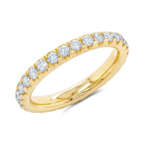 14K Yellow Diamond 1.18ct Eternity Band