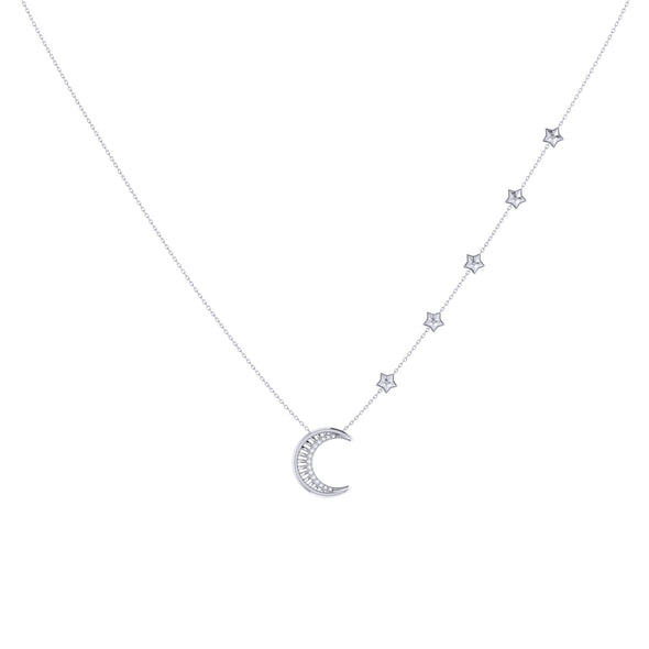 Starry Lane Necklace in Sterling Silver