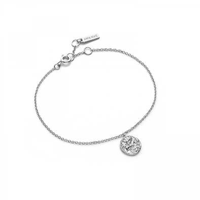 Coins Drop Medallion Bracelet