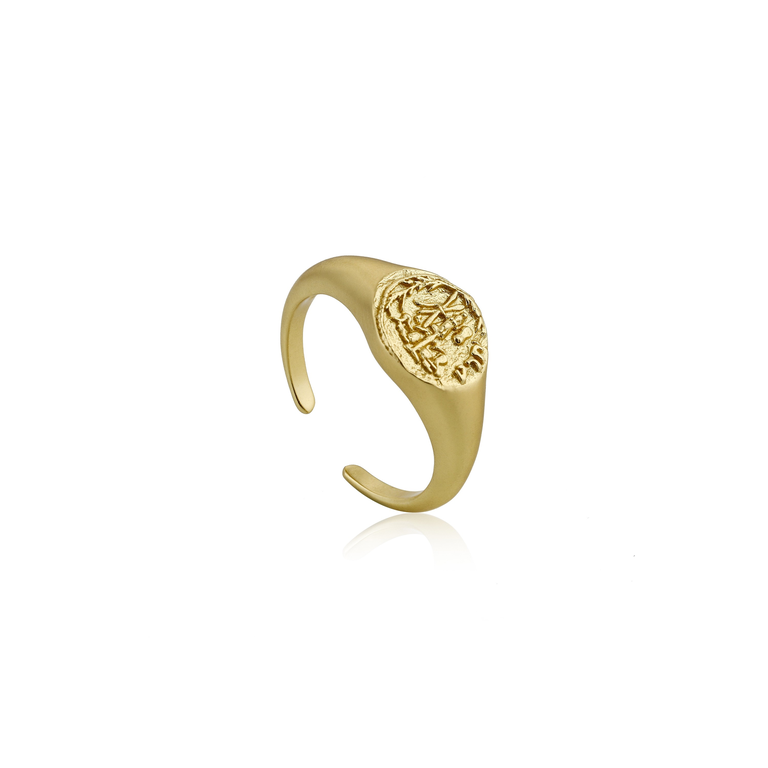 Coins Signet Ring