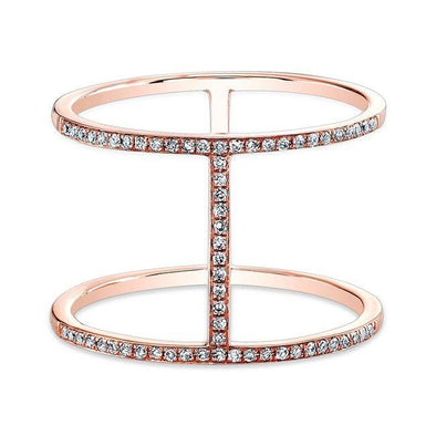 Diamond Ladies Fashion Ring