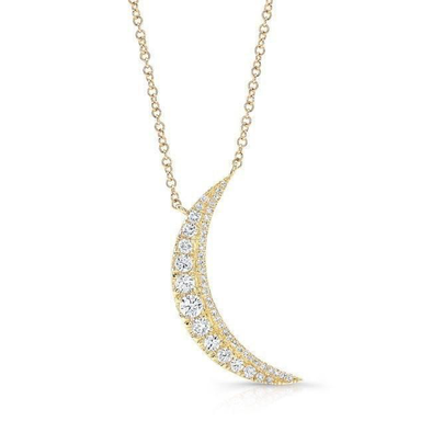 Diamond Lunar Necklace