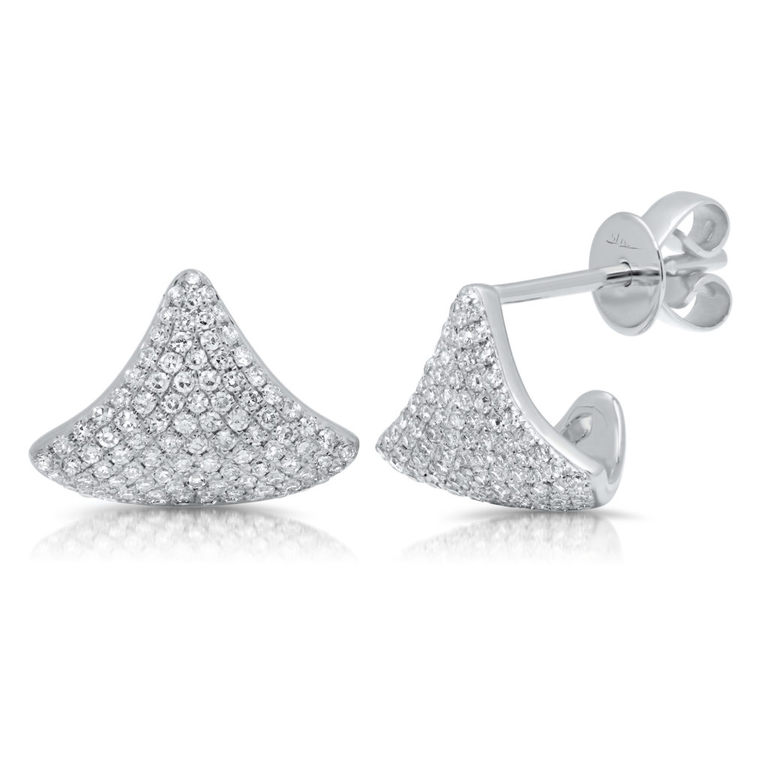 Diamond Pave Cuff Earring