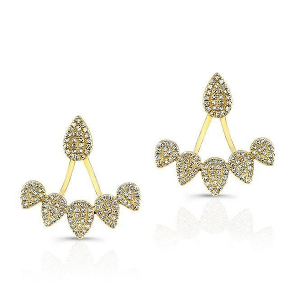 Diamond Raindrop Earrings