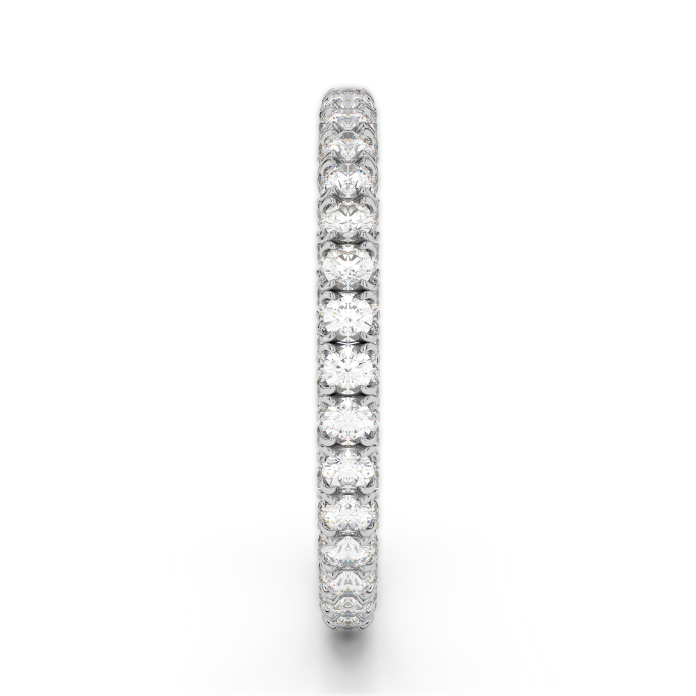 18K 1.96Ct Diamond Seamless Eternity Band