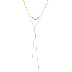 Lariat Links Necklace