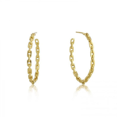 Links Chain Earrings