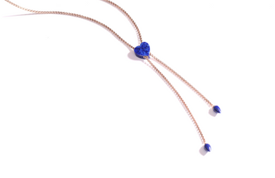 Luv Me Lapis Lariet Necklace
