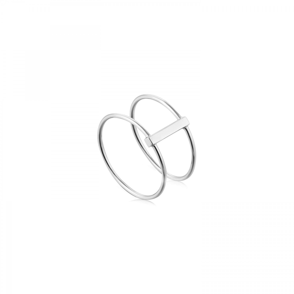 Modern Minimalism Double Ring