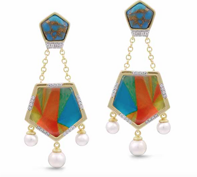 Mosaic Wild & Free Earrings