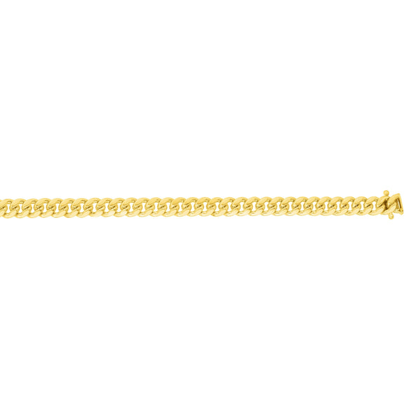 "8.5"" 14k Yellow Gold 6.14Mm Miami Cuban Link Bracelet"