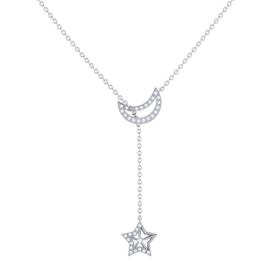 Shooting Star Necklace in Sterling Silver