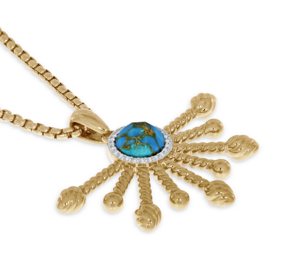 Turquoise Day Break Necklace