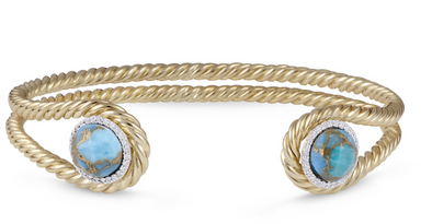 Turquoise Glory Of The Sun Cuff