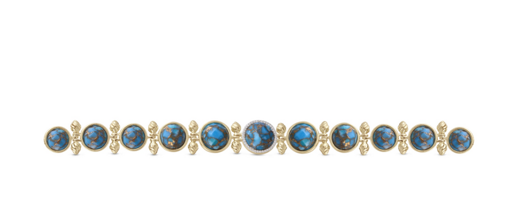 Turquoise Summer Nights Bracelet