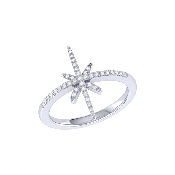 Twinkle Star Ring in Sterling Silver