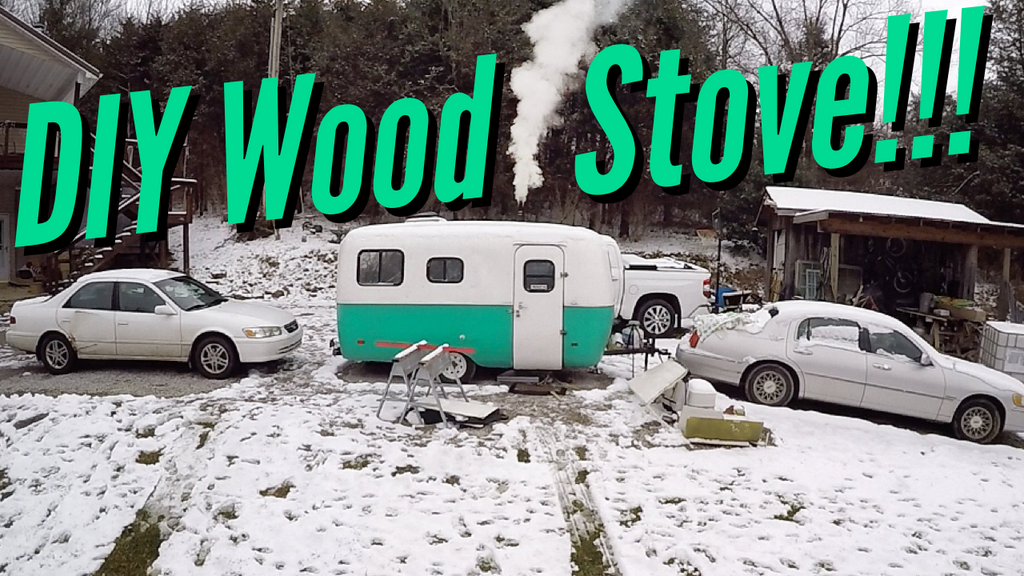 How to: Install a Woodstove in a Travel Trailer