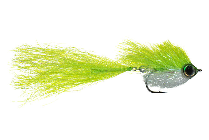 Jake's Pike Bait Chartreuse/White