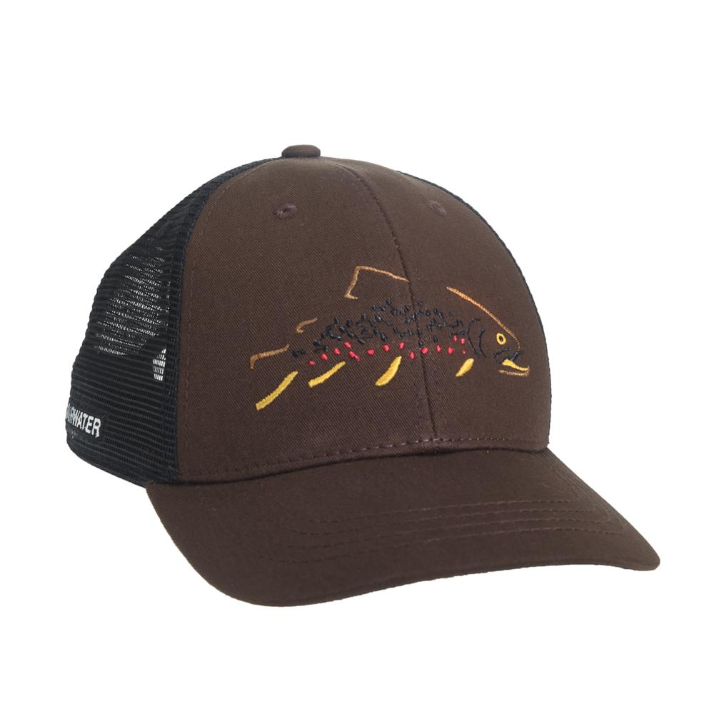 Rep Your Water Minimalist Brown Hat