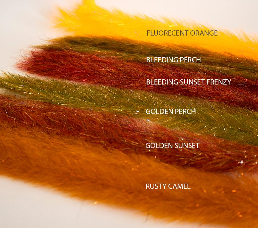 RD Fly Fishing SF Flash Blend Baitfish Brush