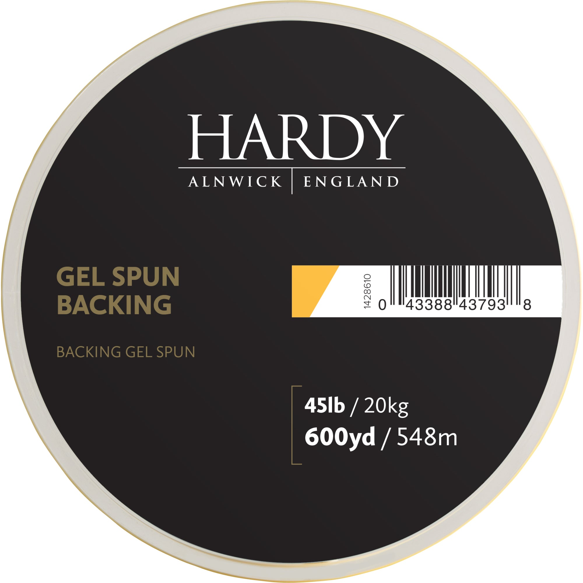 Hardy Hardy Gel Spun Backing Yellow