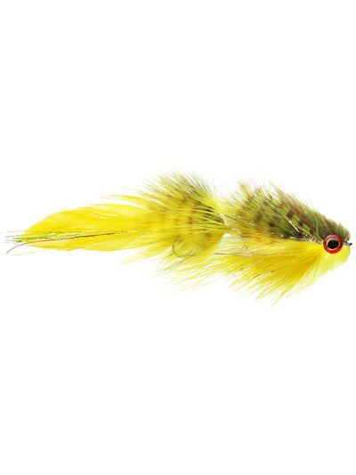 Galloup's Bangtail Olive Yellow