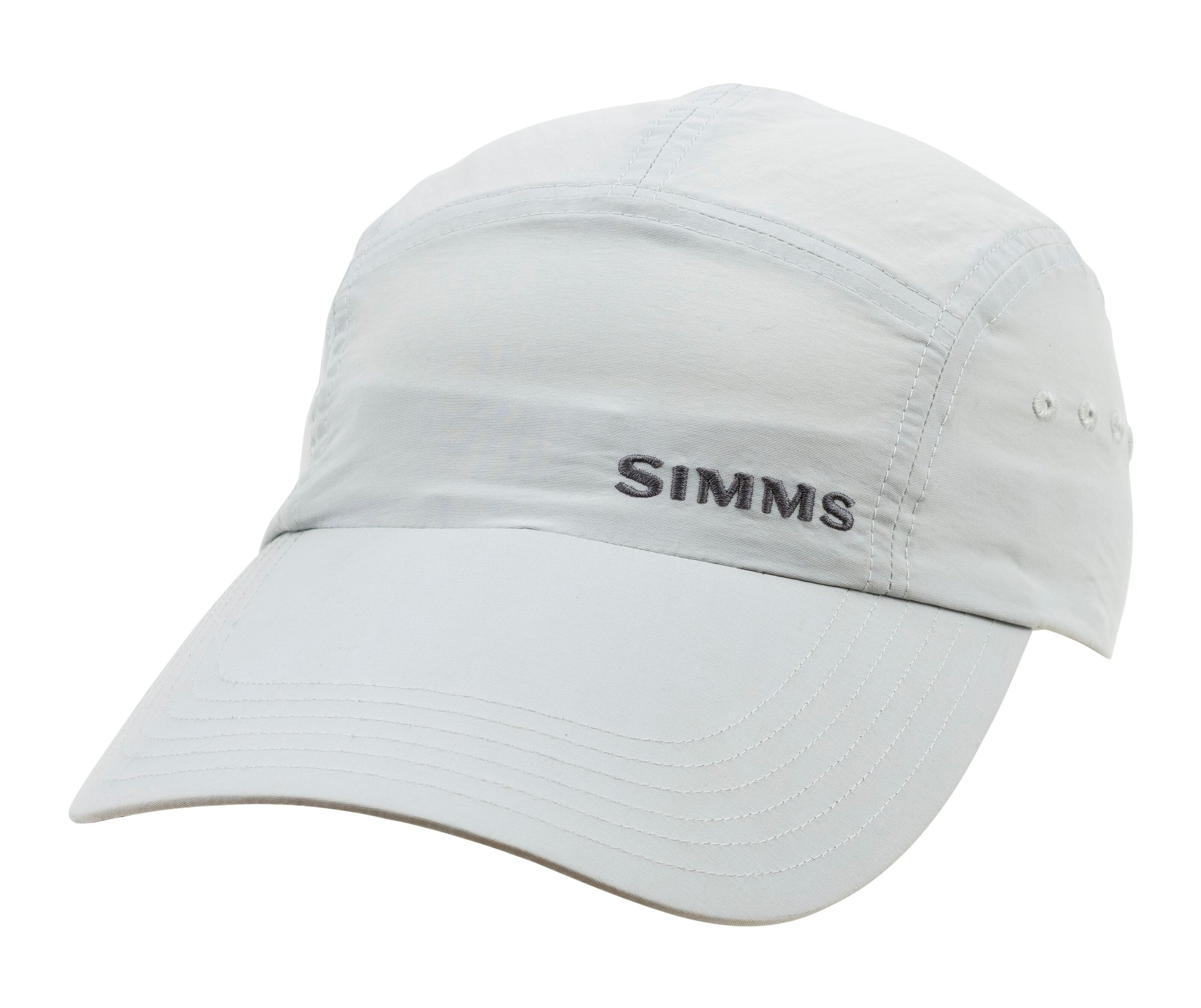 Simms Superlight Flats Long Brimmed Cap - Sterling