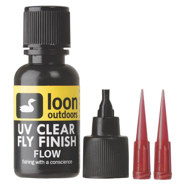 Loon Outdoors UV Clear Fly Finish - Flow (1/2 Oz)