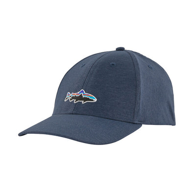 Patagonia Fitz Roy Trout Channel Watcher Cap Stone Blue