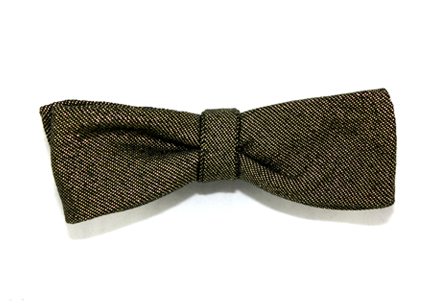 Tasty Ties - French 75 Custom Bow Tie From The Cocktail Collection