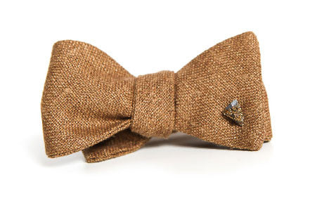 Tasty Ties Gypsy Tan Bow Tie