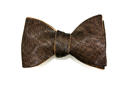 Tasty Ties - Moscow Mule Double-Sided Custom Bow Tie From The Cocktail Collection