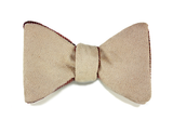 Tasty Ties - Blood And Sand Double-Sided Custom Bow Tie From The Cocktail Collection