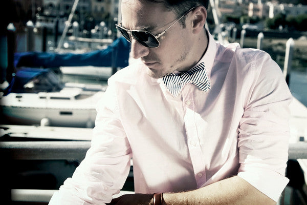 Tasty Ties - The Marina Custom Bow Tie From The San Francisco Collection
