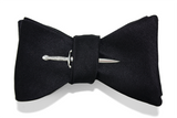 Martini bow tie with sword pin by Tasty Ties