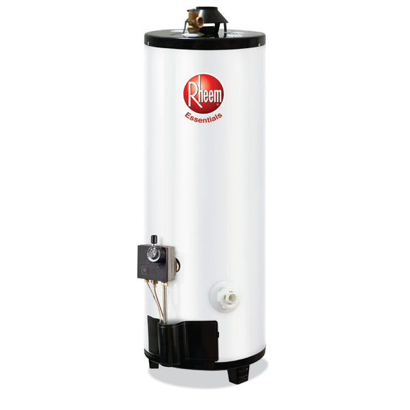 Calentador Rheem Essential gas LP blanco 76 L