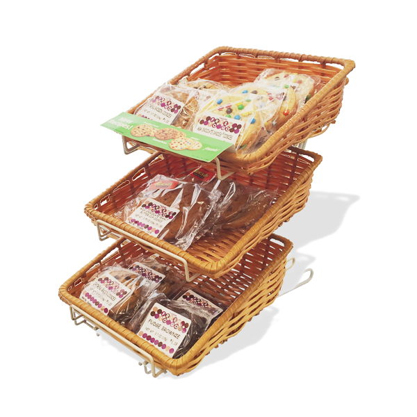 3TFW - Fruits/Snacks 3-Tier Counter Display