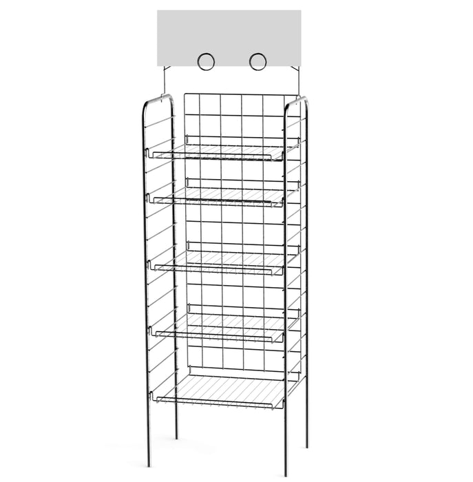 F18D - Consumer Goods 18″ Shelf Display Rack